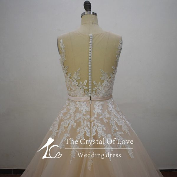champagne-dress-for-wedding