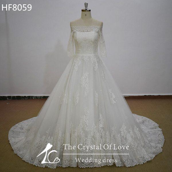 long-sleeve-a-line-wedding-dress