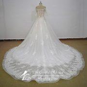 see through corset wedding dress