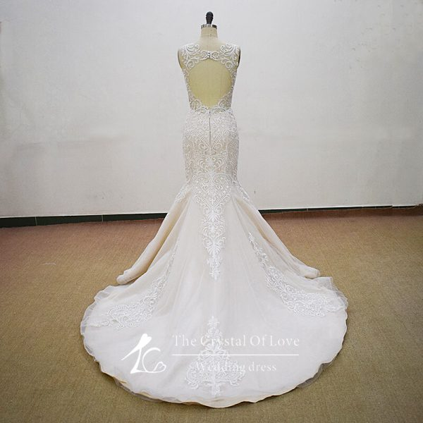 champagne-and-ivory-wedding-dress