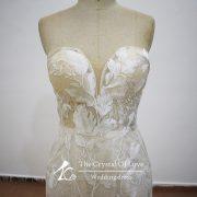blush-v-neck-wedding-dress