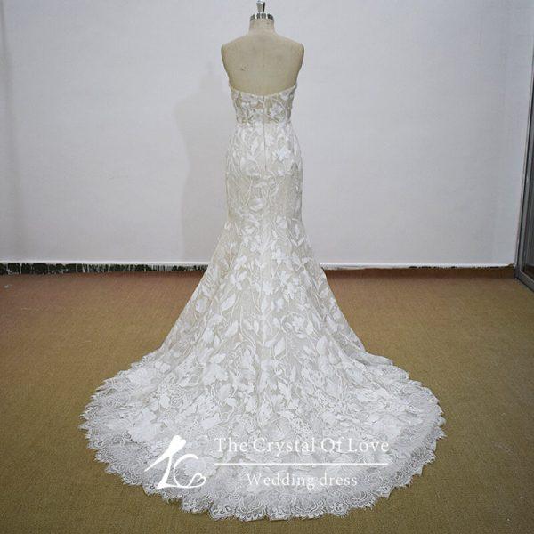 champagne-vintage-wedding-dress
