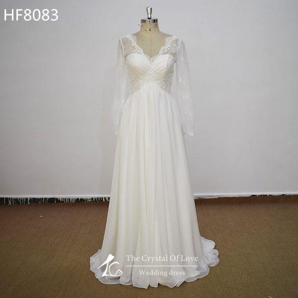 chiffon-bridal-dresses
