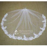short-wedding-veils